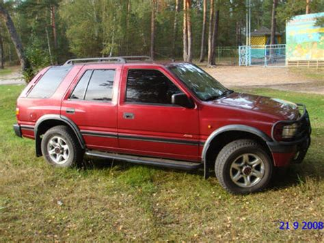 Used 1996 Opel Frontera Pictures