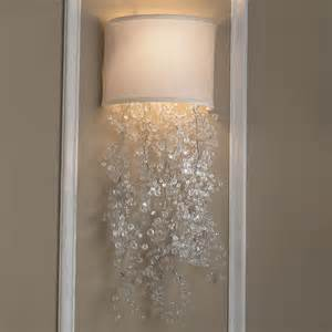Chandelier Mini Shades Dripping Crystal Shade Sconce 2 Colors Lamp Shades