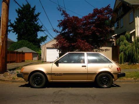 hatchback cars 1980s parked cars 1980 dodge colt hatchback