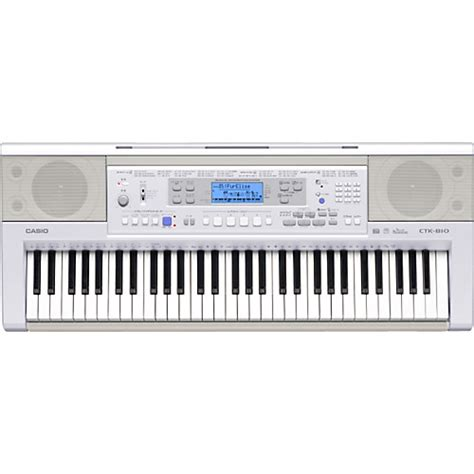 Keyboard Casio Ctk 810 In Casio Ctk 810 61 Note Touch Sensitive Keyboard Musician S Friend