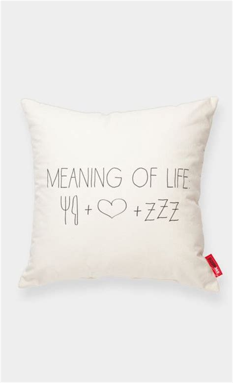 Meaning Of Pillow by Meaning Of Food Sleep Decor Follow Me Eat Sleep And Sleep