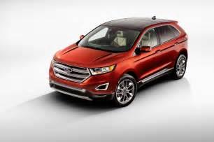 2015 ford edge titanium front three quarters photo 17
