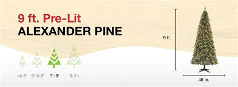 martha stewart 9 foot alexander pine tree lghts direction martha stewart living 9 ft pine set artificial tree with pinecones