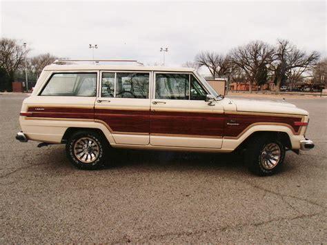 jeep station wagon 1985 jeep wagoneer station wagon 61029