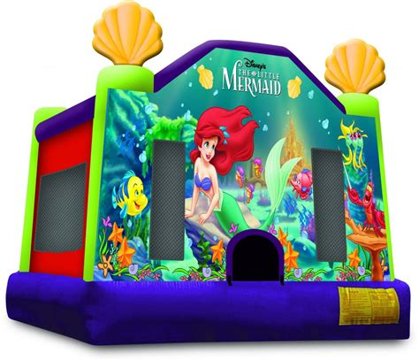 little bounce house little mermaid inflatable bounce house rentals jumpers