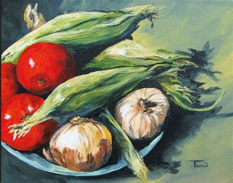 vegetables painting summer vegetables by torrie smiley from gallery