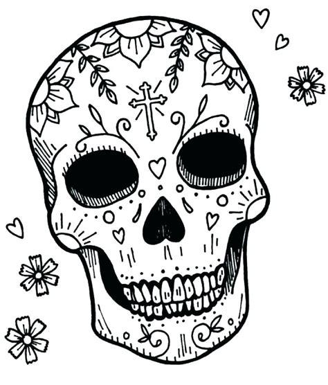 Skulls Coloring Book coloring skull flaming skull coloring pages sugar skull