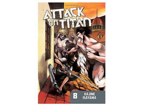attack on titan volume 1 attack on titan vol 8 shingeki no kyojin otakustore gr