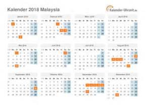 Kalender 2018 Pdf Erstellen Feiertage 2018 Malaysia Kalender 220 Bersicht