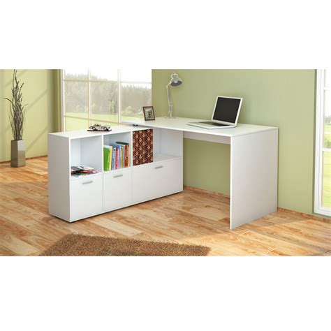 Wrap Around Office Desk Desk Wrap Around Desk Corner Desk Computer Desk White Ebay