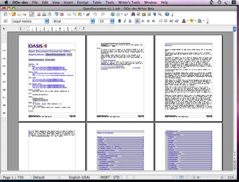 Open Office Mac open office 3 0 beta 187 linux magazine