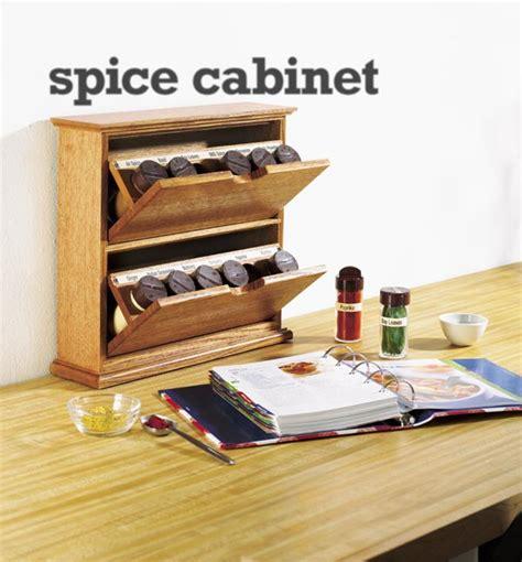 tilting bin spice cabinet woodworking plan  wood magazine