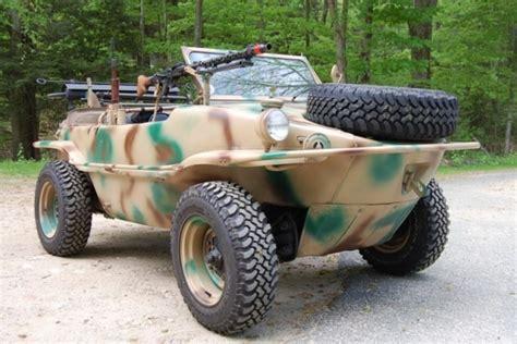 volkswagen schwimmwagen for sale water beetle 1943 vw schwimmwagen bring a trailer
