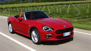 Fiat Spiders Fiat 124 Spider 2016 Review By Car Magazine