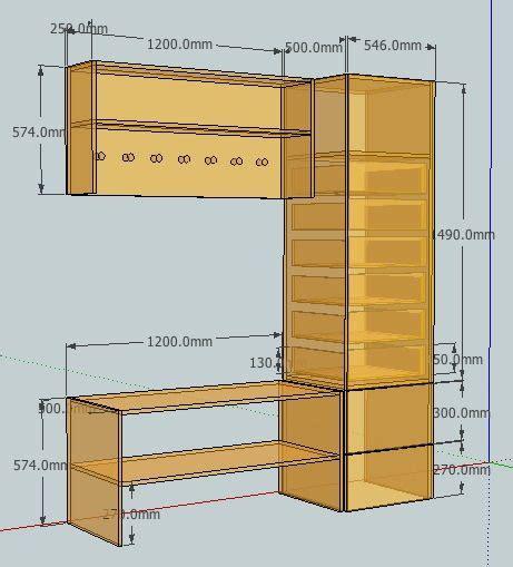 tutorial design furniture  google sketchup home