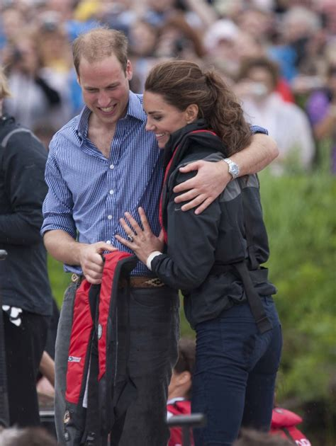 Prince William And Kate Middleton Back On by Prince William Touching Kate Middleton S Back Pictures