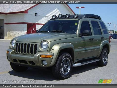 2003 Jeep Liberty Renegade Cactus Green Pearl 2003 Jeep Liberty Renegade 4x4