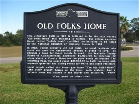 folks home historical marker