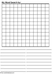 blank sheet template for word blank word search worksheets