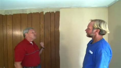 can you paint wood paneling paint wood paneling