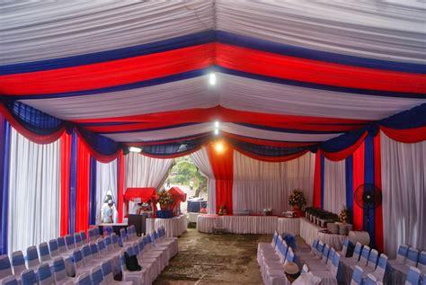 Tenda Acara Jual Sarung Kursi Sarung Kursi Futura Tenda Cover Meja Plafon Dekorasi Tenda Pesta Terval Dll
