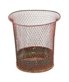 Flare Waste Basket Keranjang Sah home i own these on ebay pottery barn and chair cushions