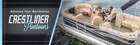 crestliner pontoon boat models home mapleton marine mapleton mn 507 524 4588