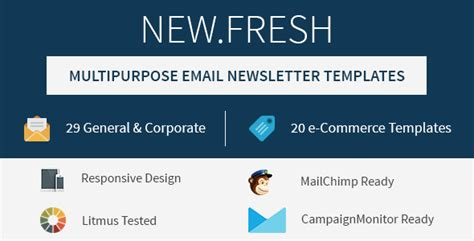 responsive email newsletter templates 25 awesome responsive email templates tutorial zone