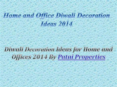Interior Design Courses In India home and office diwali decoration ideas 2014