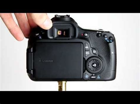 tutorial video canon canon eos 60d tutorial 1 an introduction to the camera