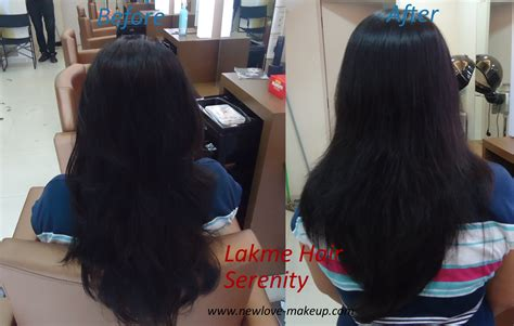 lakme hair styles cost lakme hair serenity service straight hair with cysteine
