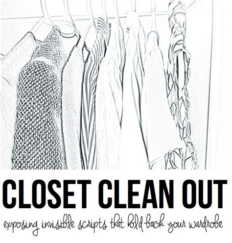 clean out closet closet clean out greater than rubies