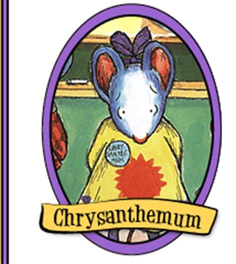 chrysanthemum picture book jeanporter chrysanthemum