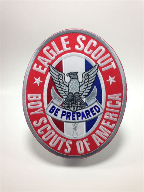 eagle scout gift items similar to eagle scout patch court of honor gift