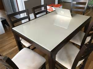 Cafe Latte Dining Table Macy S 7 Cafe Latte Dining Set Furniture In Renton Wa Offerup