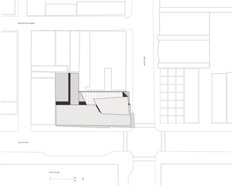 Zaha Hadid Floor Plan by Gallery Of Ad Classics Rosenthal Center For Contemporary
