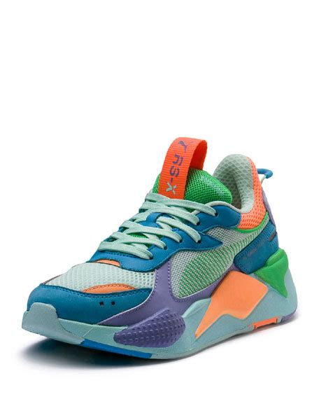 puma rs  colorblock sneakers blue neiman marcus