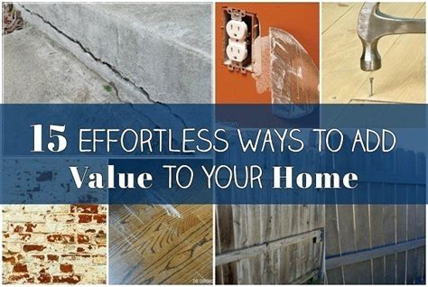15 effortless ways to add value to your home