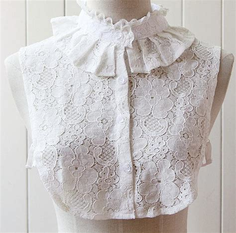 Blus Blouse Korea Wing Sleeve Okc95 2015 new korea princess white lace blouse detachable collars pan false collar