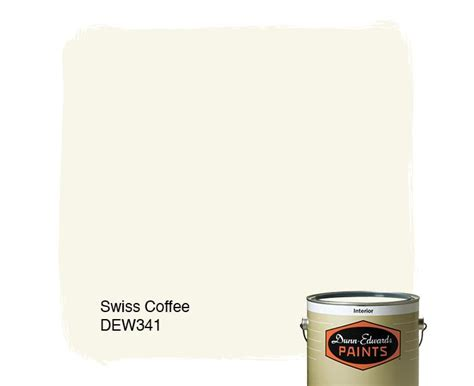 dunn edwards paints white paint color swiss coffee dew341 click for a free color sle