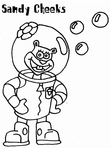 Spongebob Squarepants Coloring Pages Coloringpages1001 Com Sponge Bob Square Coloring Pages