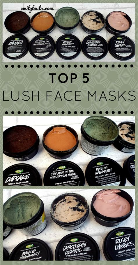 diy lush cupcake mask top 5 lush masks including fresh masks such as cupcake mask of magnaminty rosey