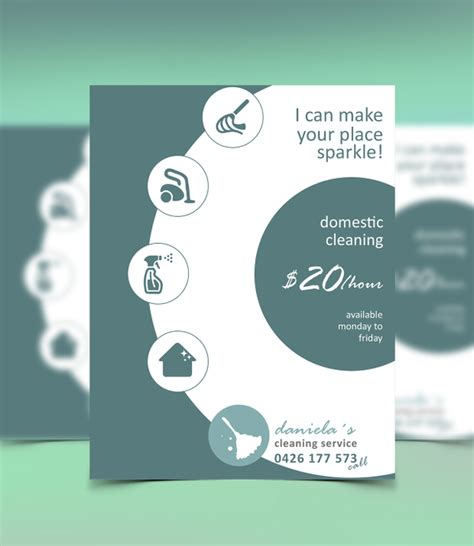 Free Cleaning Flyer Templates by 16 Cleaning Service Flyers Free Psd Ai Eps Format