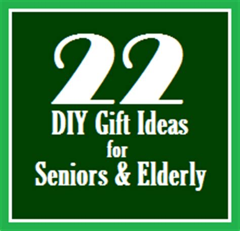 the fuzzy square 22 diy gift ideas for seniors and elderly