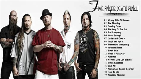 five finger death punch youtube playlist five finger death punch greatest hits top 30 best songs