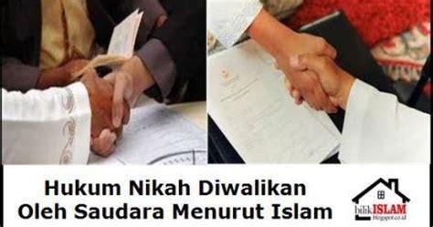 Fikih Wanita Empat Madzhab Muhammad Utsman Al Khasyt hukum nikah dengan wali saudara menurut fikih islam