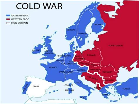iron curtain countries remix of quot cold war map from 1945 to 1961 quot thinglink