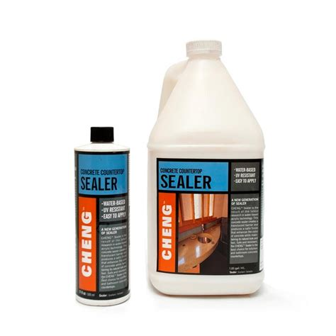 What Sealer To Use On Concrete Countertops by Cheng Concrete Countertop Sealer Concrete Exchange