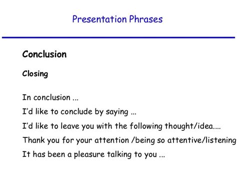 Closing Letter Thank You For Your Attention Presentation Skills In