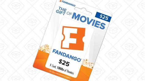 Fandango Gift Card Discount - save 6 on your next movie night with this discounted fandango gift card